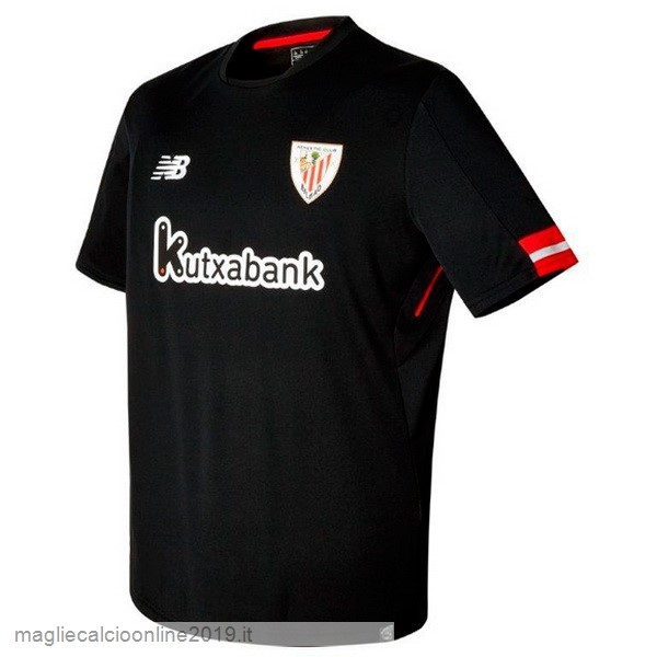 Maglie Originali Calcio New Balance Away Maglia Athletic Bilbao 17-18 Nero