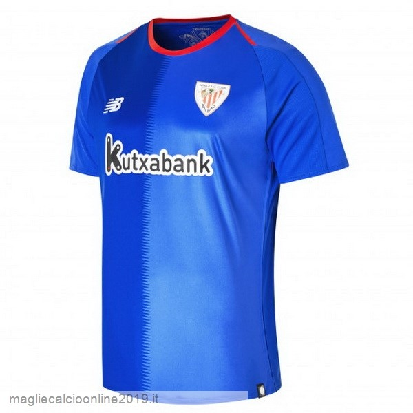 Maglie Originali Calcio New Balance Away Maglia Athletic Bilbao 18-19 Blu