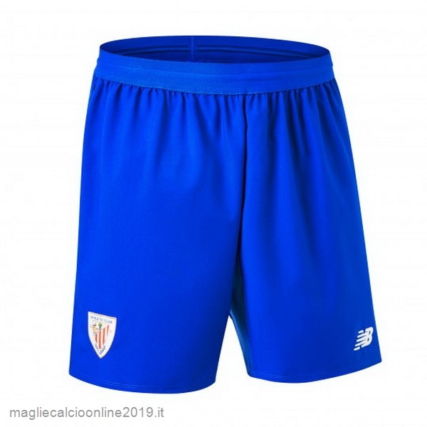 Maglie Originali Calcio New Balance Away Pantaloncini Athletic Bilbao 18-19 Blu