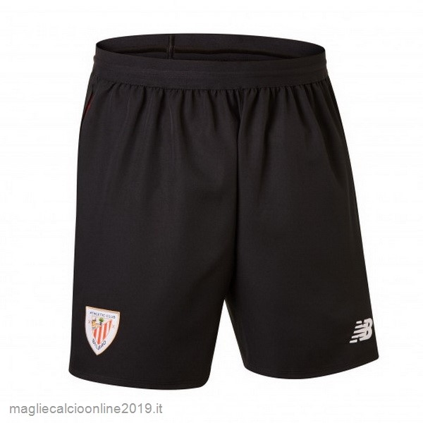 Maglie Originali Calcio New Balance Home Pantaloncini Athletic Bilbao 18-19 Nero