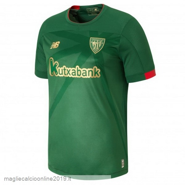 Maglie Originali Calcio New Balance Away Maglia Athletic Bilbao 2019 2020 Verde