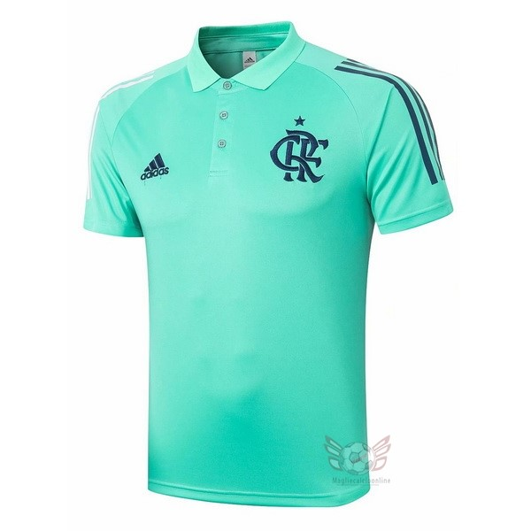Maglie Originali Calcio adidas Polo Flamenco 2020 2021 Verde