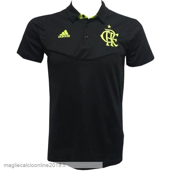 Maglie Originali Calcio Adidas Polo Flamenco 2019 2020 Nero