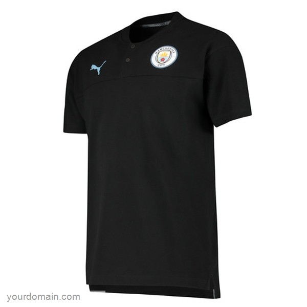 Maglie Originali Calcio Puma Polo Manchester City 2019 2020 Nero