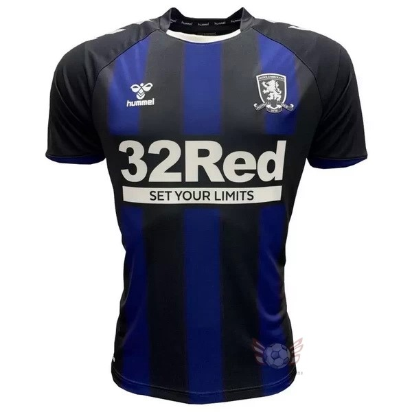 Maglie Originali Calcio hummel Away Maglia Middlesbrough 2020 2021 Blu