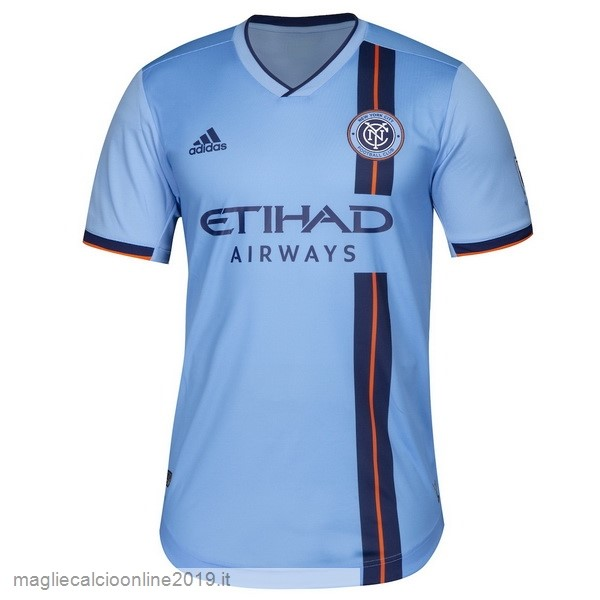 Maglie Originali Calcio Adidas Home Maglia New York City 2019 2020 Blu