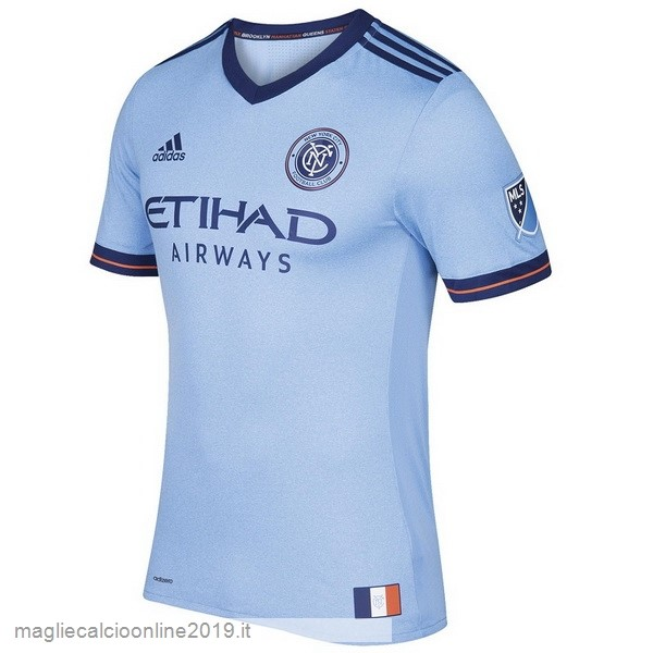 Maglie Originali Calcio adidas Home Maglia New York City 17-18 Blu