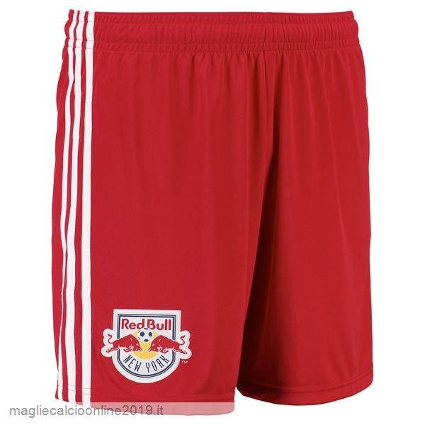 Maglie Originali Calcio adidas Home Pantaloncini New York Red Bulls 17-18 Rosso