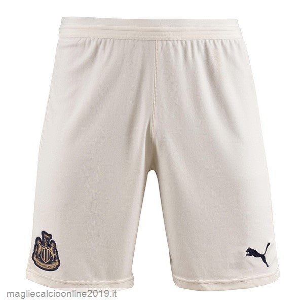 Maglie Originali Calcio PUMA Away Pantaloncini Newcastle United 18-19 Bianco