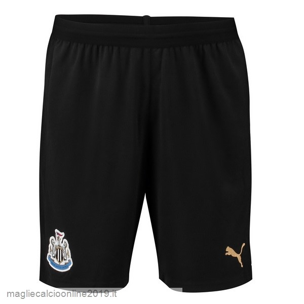Maglie Originali Calcio PUMA Home Pantaloncini Newcastle United 18-19 Nero