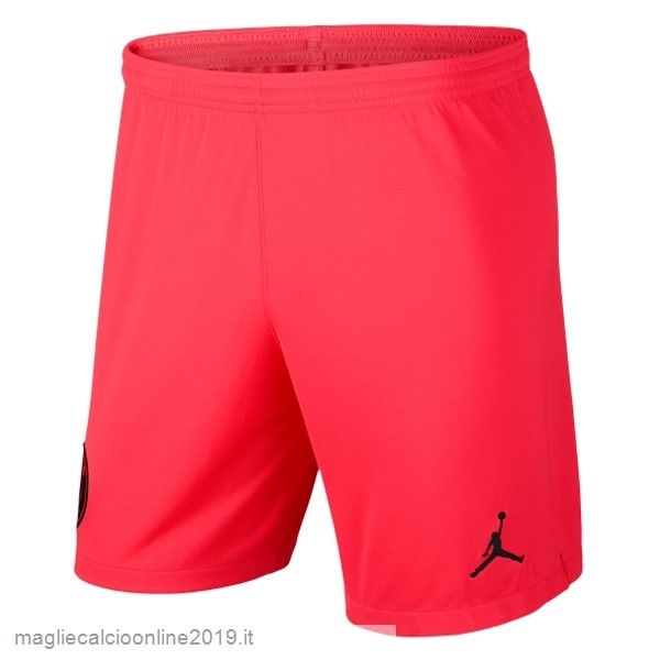 Maglie Originali Calcio JORDAN Away Pantaloni Paris Saint Germain 2019 2020 Rosso