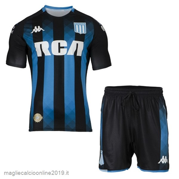 Maglie Originali Calcio Kappa Away Set Completo Bambino Racing Club 2019 2020 Nero