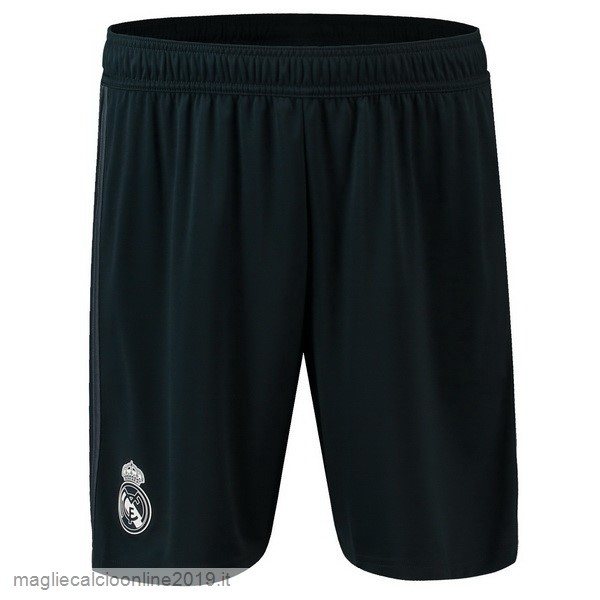 Maglie Originali Calcio adidas Away Pantaloncini Real Madrid 18-19 Nero