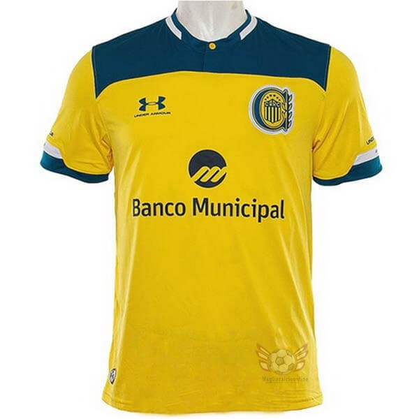 Maglie Originali Calcio Under Armour Away Maglia CA Rosario Central 2020 2021 Giallo