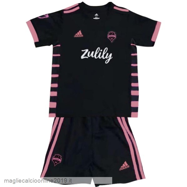 Maglie Originali Calcio Adidas Away Conjunto De Bambino Seattle Sounders 2019 2020 Nero