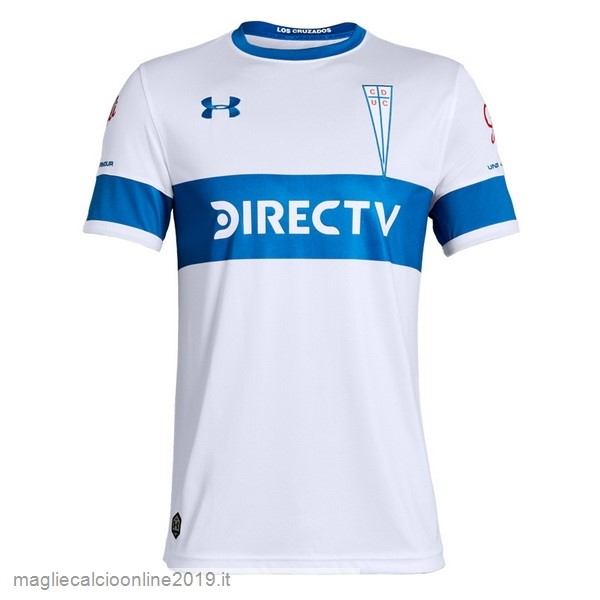 Maglie Originali Calcio Under Armour Home Maglia Cd Universidad Católica 2019 2020 Bianco